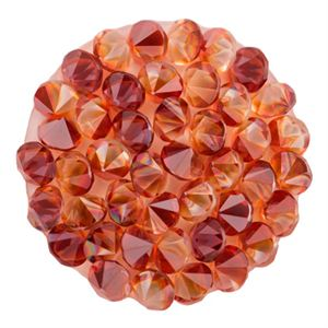 Picture of Medium Red Magma Crystal Embellishment
